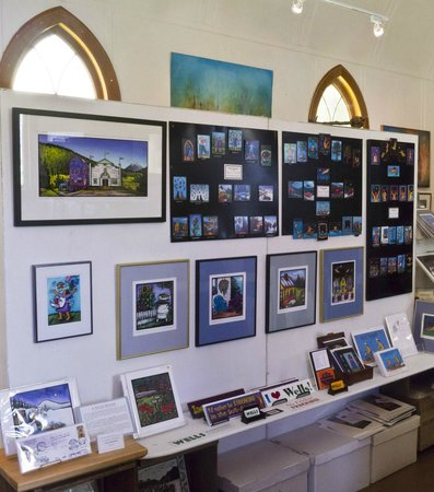 Amazing Space Studio & Gallery: Some of Claire Kujundzic's framed work & art magnets