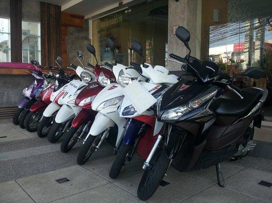 Le Desir Resortel: Motorbikes for rent 200Baht/day