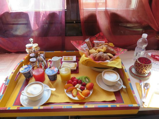 Casa Gottardi: What a way to start the day!