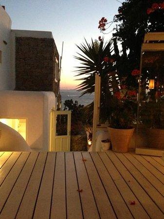 Mykonos View Hotel: ingresso