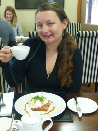 The Dairy Private Hotel: Breakfast - try the amazing eggs benedict