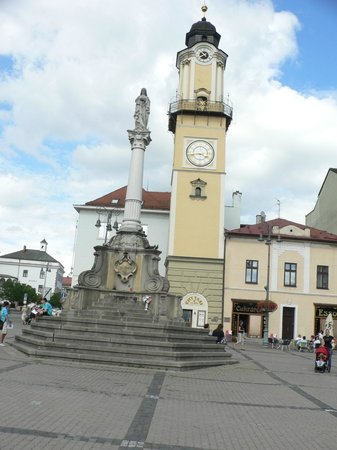 The Clock Tower and column