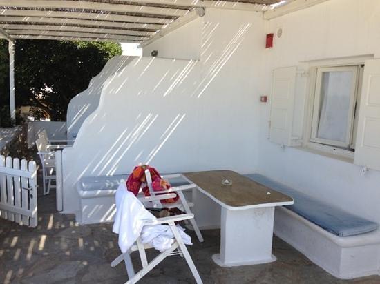 Mykonos View Hotel: terrazzìno