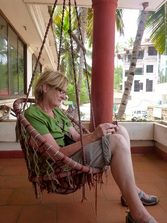 Mom Lekha's Private Homes: Swinging on the balcony