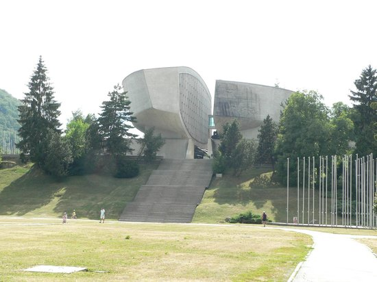 Museum of the Slovak National Uprising: The another entrance to the Memorial SNU