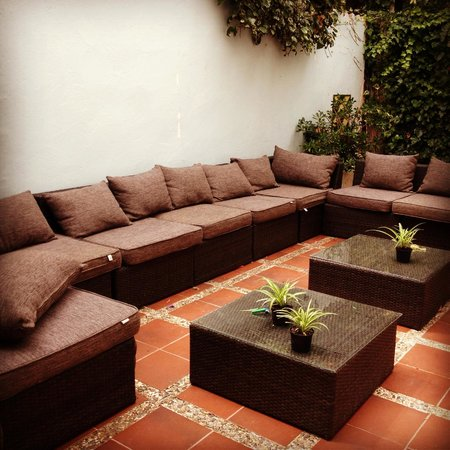 Sitges Beach Hostel: chill out