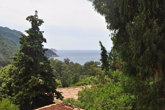 View from the terrace of Room 12 at Hotel Bella Vista
