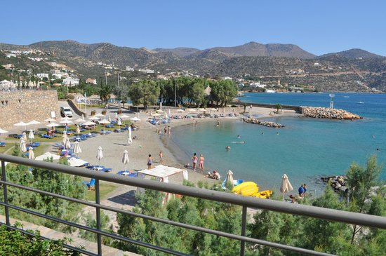 Mirabello Beach & Village Hotel : Παραλία