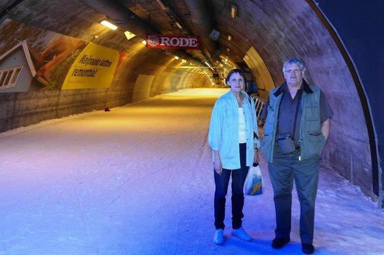 Angry Birds Activity Park Vuokatti: Лыжный туннель, где температура -10 круглый год.