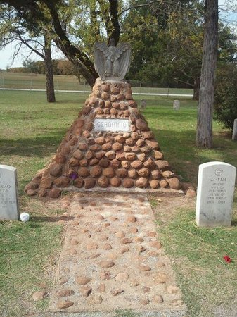 Image result for Geronimo grave in 2019