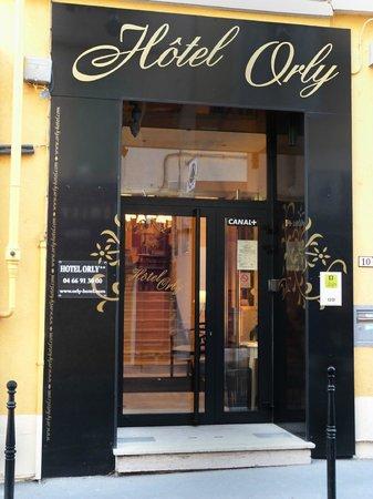 Hôtel Orly : Façade
