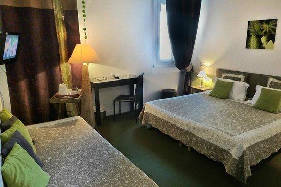 Hôtel Orly : Chambre Triple