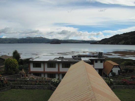 Hotel Decameron Camino Real: Vista desde la habitación 201