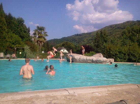 Camping Le Vaurette : Camping's heated swimming pool