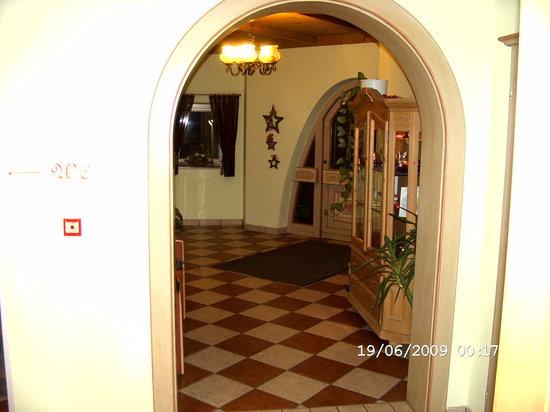 Landhotel Lechner: der Eingang