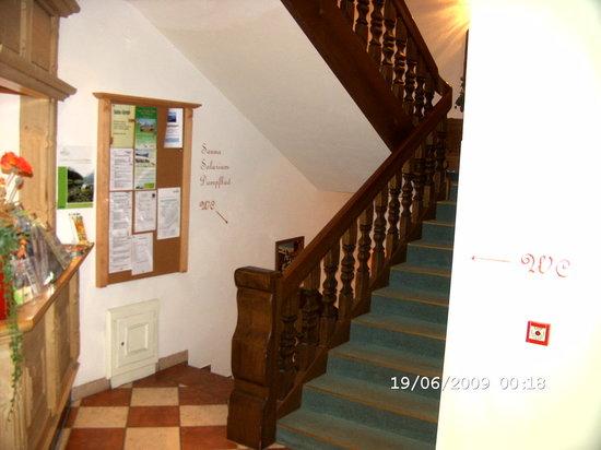 Landhotel Lechner: das Treppenhaus