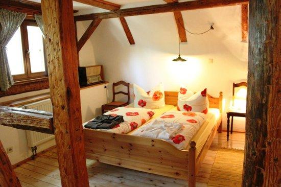 Das Lehmhaus am Anger: Zimmer im Lehmhaus