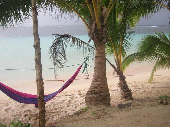 Tanu Beach Fales : Tanu Beach