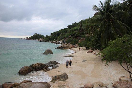 PD Resort: strand naast het restaurant