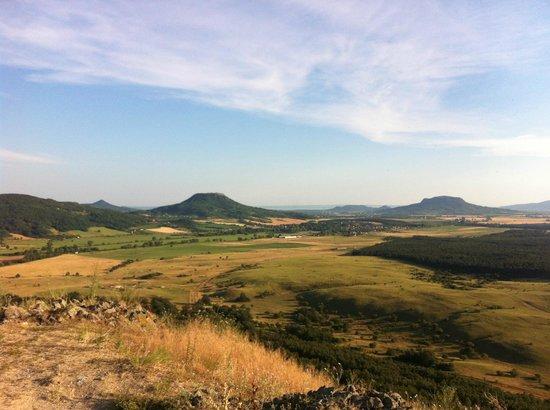 Hotel Bonvino Wine and Spa Badacsony: The surrounding Hills in the Tapolca Bassin
