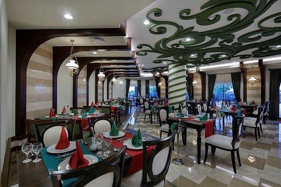 Alba Resort Hotel: Italyan A la Carte