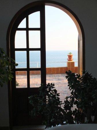 Hotel Villa Sirena : entrata nel terrazzo panoramico