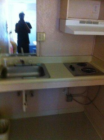 Intown Suites Piedmont: Nasty sink and cooker