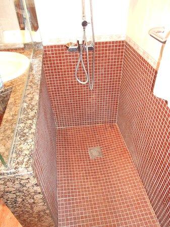 B&B El Pekinaire: shower area
