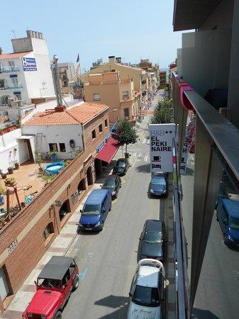B&B El Pekinaire: view from balcony