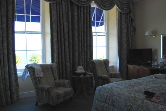 The Royal Duchy Hotel: Our room