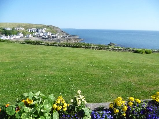 The Portpatrick Hotel: View from hotel grounds