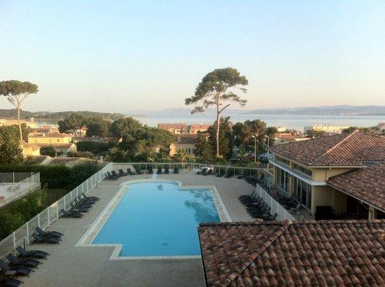 Lagrange Prestige Les Terrasses des Embiez : Vue de la terrasse
