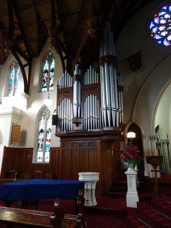 First Church of Otago: The huge organ