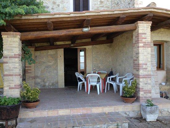Il Casale di Mario : l'ingresso principale...