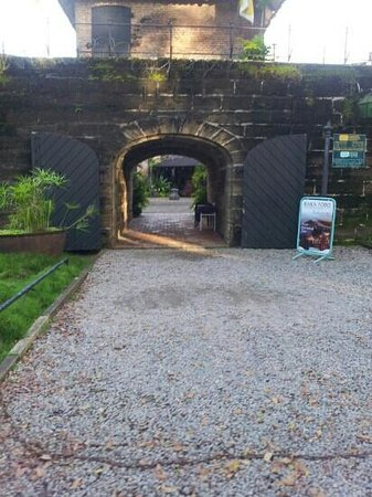 Fort Zeelandia : Outside view