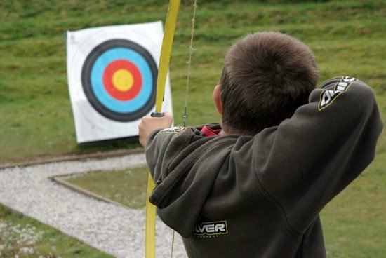 Penryn, UK: Hit the bulls eye!