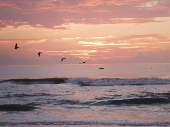 Ormond Beach, FL: Sunrise July 30, 2013