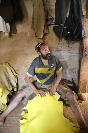 Artisanal Affairs Day Tours: Tannery worker - Mohammed