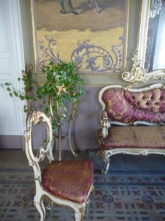 Gattopardo House: Salon d'acceuil