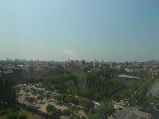Ibis Barcelona Meridiana: view from the room