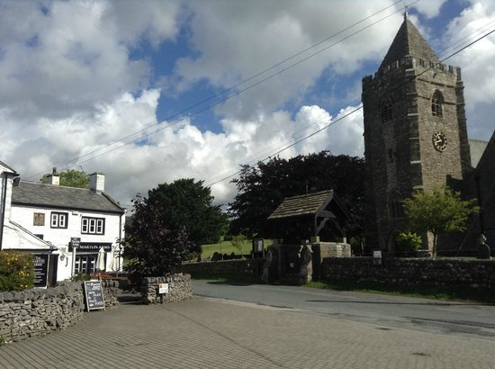 Marton Arms Hotel: The Pub and the Church