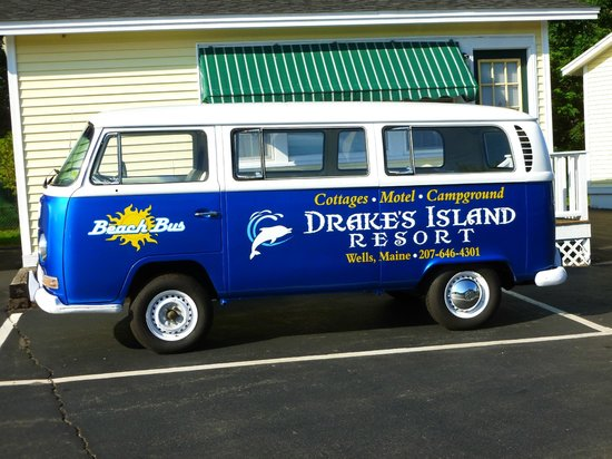 Drake's Island Resort : Transportation to the beach