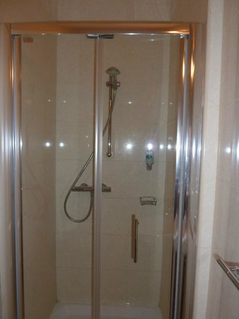 Phoenix Park Hotel: Teeny weeny shower