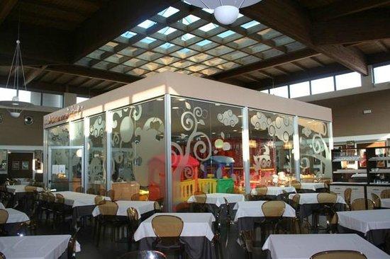 I Silvani Ristorante Pizzeria : Esterno area bimbi - sala