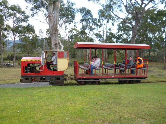 Ida Bay Railway: End of the line for earlier trip