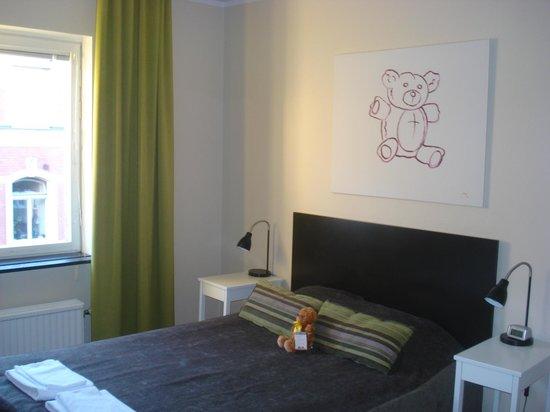 Freys Hotel Lilla Rådmannen: l'orsetto vi da il benvenuto