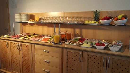 Hotel Bettina: Buffet