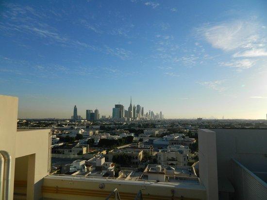 Citymax Hotels Bur Dubai: View from hotel pool