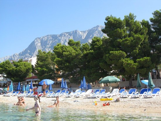 The Maritimo Hotel: Hotel Maritimo beach