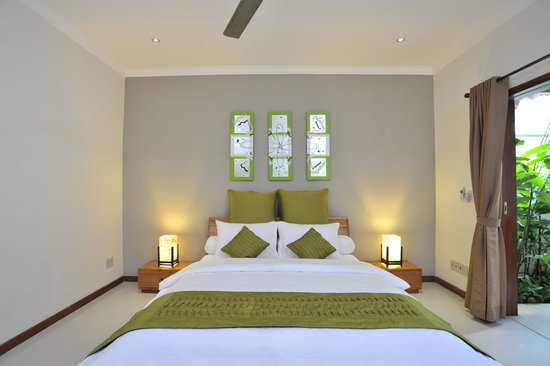 Rumah Cantik Bali at Legian/Kuta: Luxury air-conditioned bedrooms